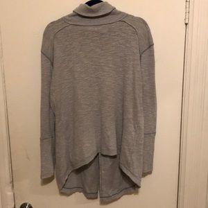 Free People Turtleneck Sweater in grey